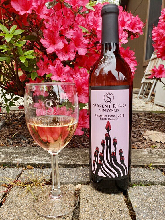 serpent ridge cabernet rose estate reserve wine westminster md